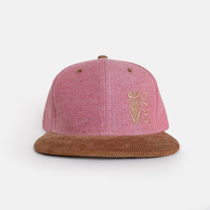 Corduroy Embroidery Hat