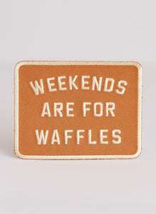 Weekends are for Waffles Patch