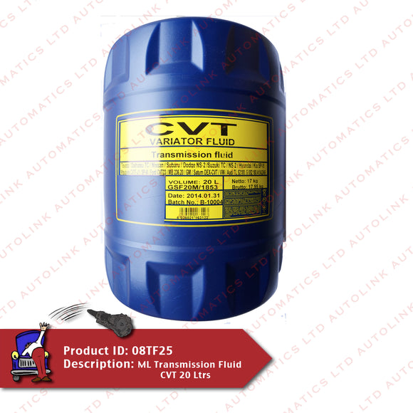 ML Transmission Fluid CVT 20 Ltrs
