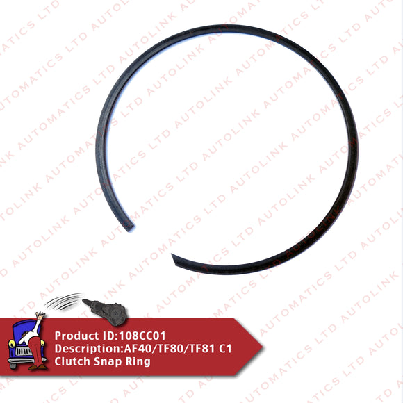 AF40/TF80/TF81 C1 Clutch Snap Ring