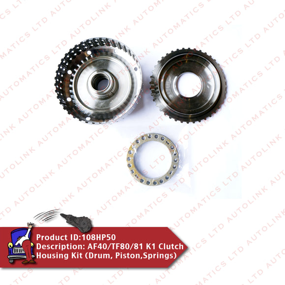 AF40/TF80/81 K1 Clutch Housing Kit (Drum, Piston,Springs)