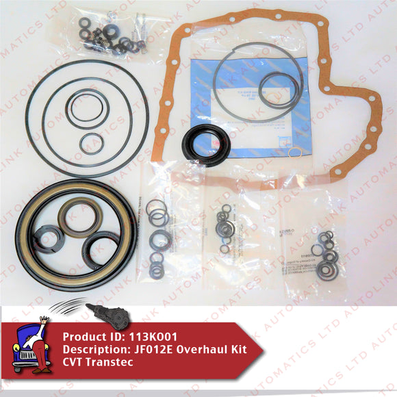JF012E Overhaul Kit CVT Transtec