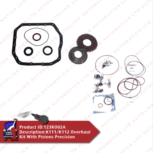 K111/K112 Overhaul Kit With Pistons Precision