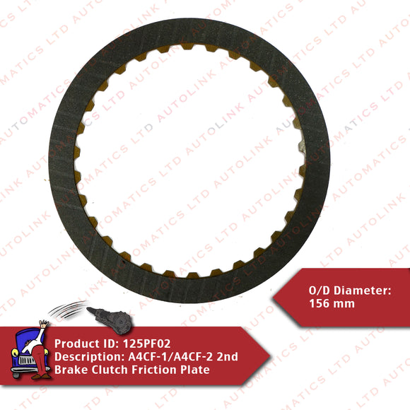 A4CF-1/A4CF-2 2nd Brake Clutch Friction Plate