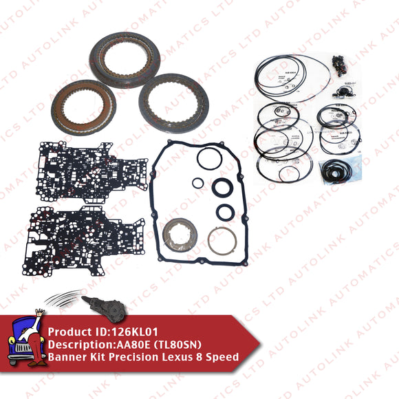 AA80E (TL80SN) Banner Kit Precision Lexus 8 Speed