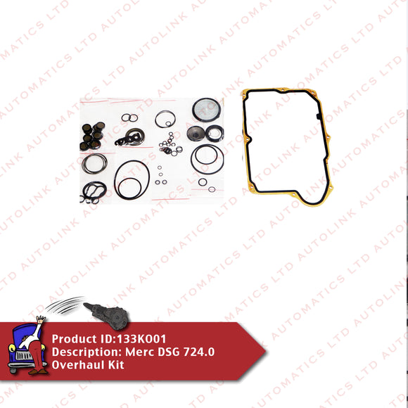 Merc DSG 724.0 Overhaul Kit