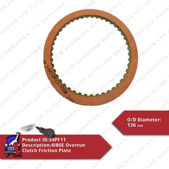 4l80E Overrun Clutch Friction Plate