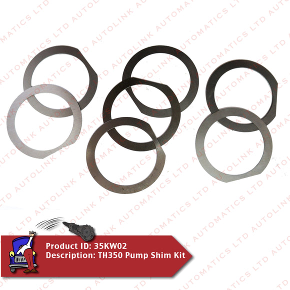 TH350 Pump Shim Kit