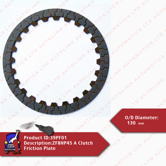ZF8HP45 A Clutch Friction Plate