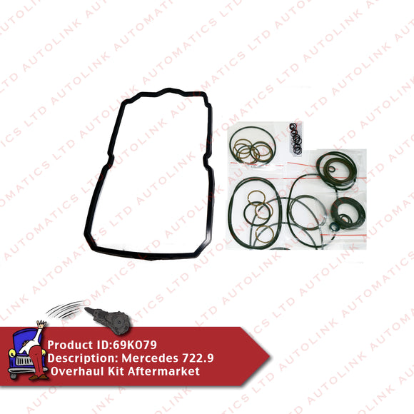 Mercedes 722.9 Overhaul Kit Aftermarket