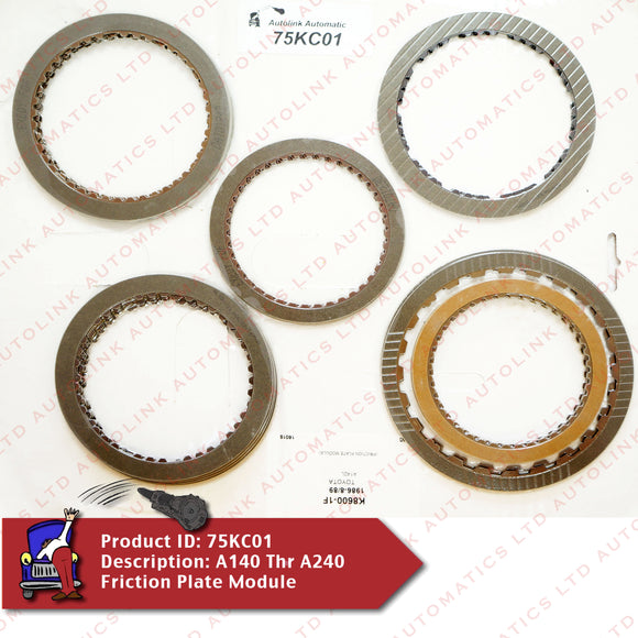 A140 Thr A240 Friction Plate Module