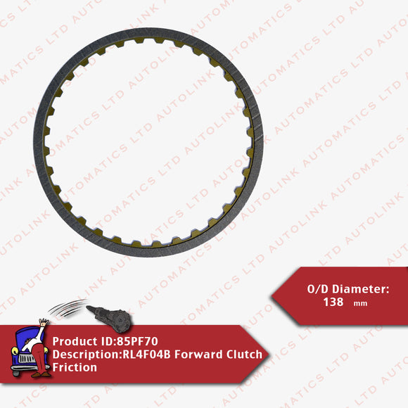 RL4F04B Forward Clutch Friction