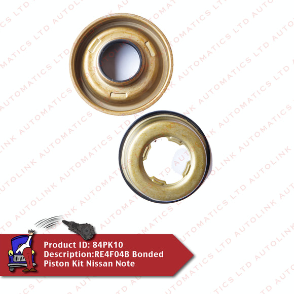 RE4F04B Bonded Piston Kit Nissan Note