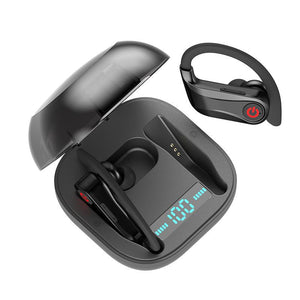 Wireless bluetooth headset (black)