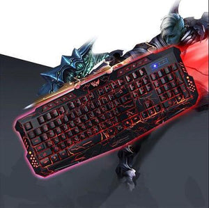 Luminescent keyboard
