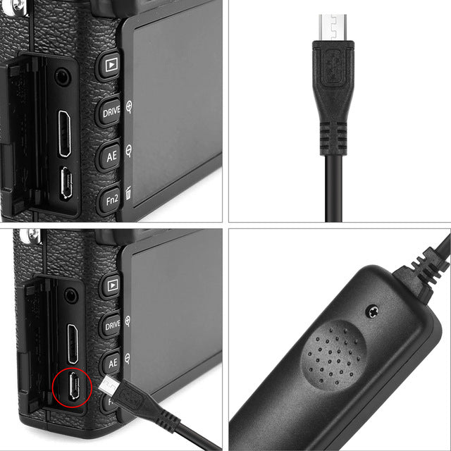 RR-90 Wired Remote Shutter Release Control