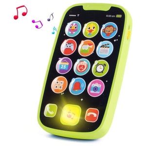 Educational toys Cellphone with LED Baby Kid Educational phone English