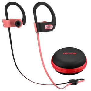 Flame IPX7 Waterproof Bluetooth 5.0 Headphones Noise Cancelling