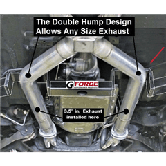 G Body undercarriage with G Force Crossmember