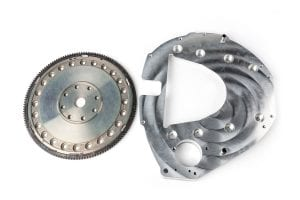 GF-F5R110-S 1989-2002 Cummins to Ford 5R110 bellhousing adapter and flexplate
