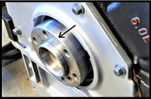 identifying long crank for spacer plate adapter kit