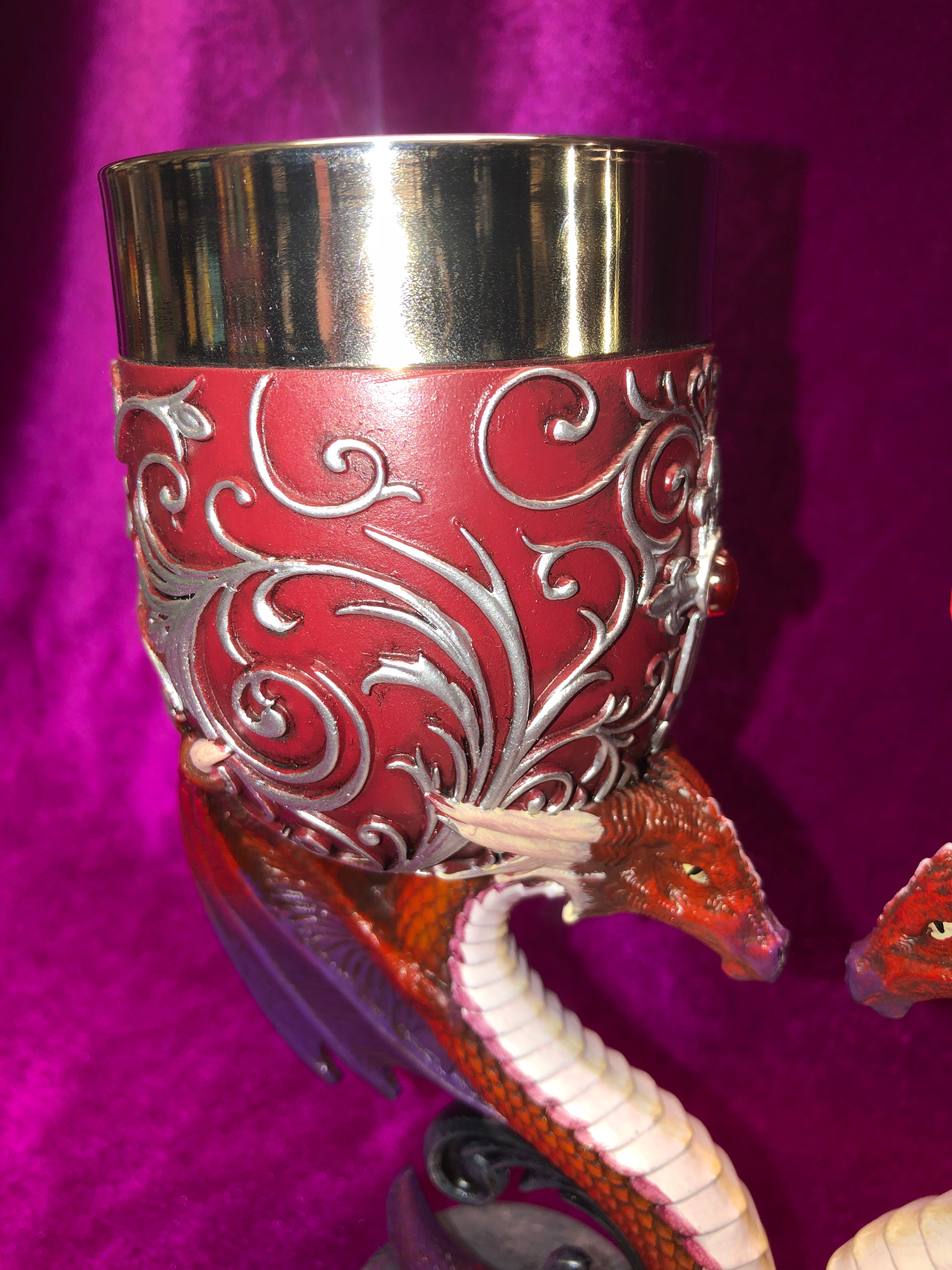 Pair of Dragons Devotion Goblets
