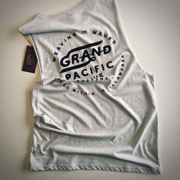Grand Pacific Customs -  Waves Tank - Limited Edition