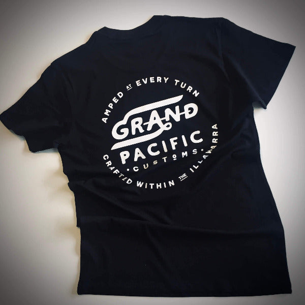 Grand Pacific Customs - Amped Tee