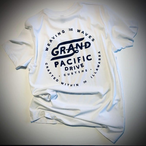 Grand Pacific Customs - Waves Tee- Limited Edition