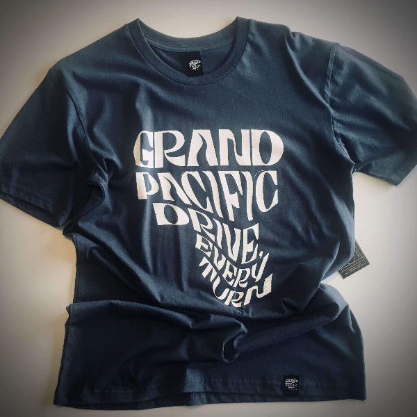 <img source='pic.gif' alt=' grand pacific drive customs every turn tee petrol blue front ' />