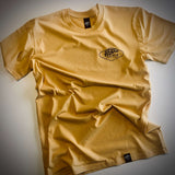 grand pacific customs Amped tee mustard