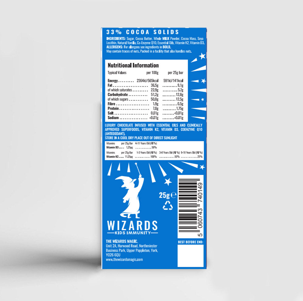 Load image into Gallery viewer, The Wizards Kids - Immunity Caramel