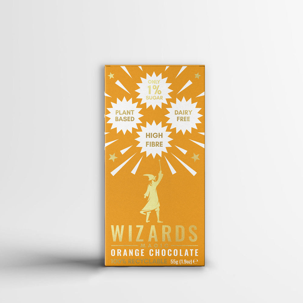 The Wizards Magic - Orange