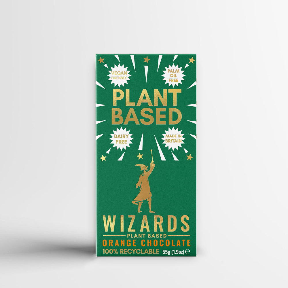 The Wizards Magic Plant Based - Orange Chocolate
