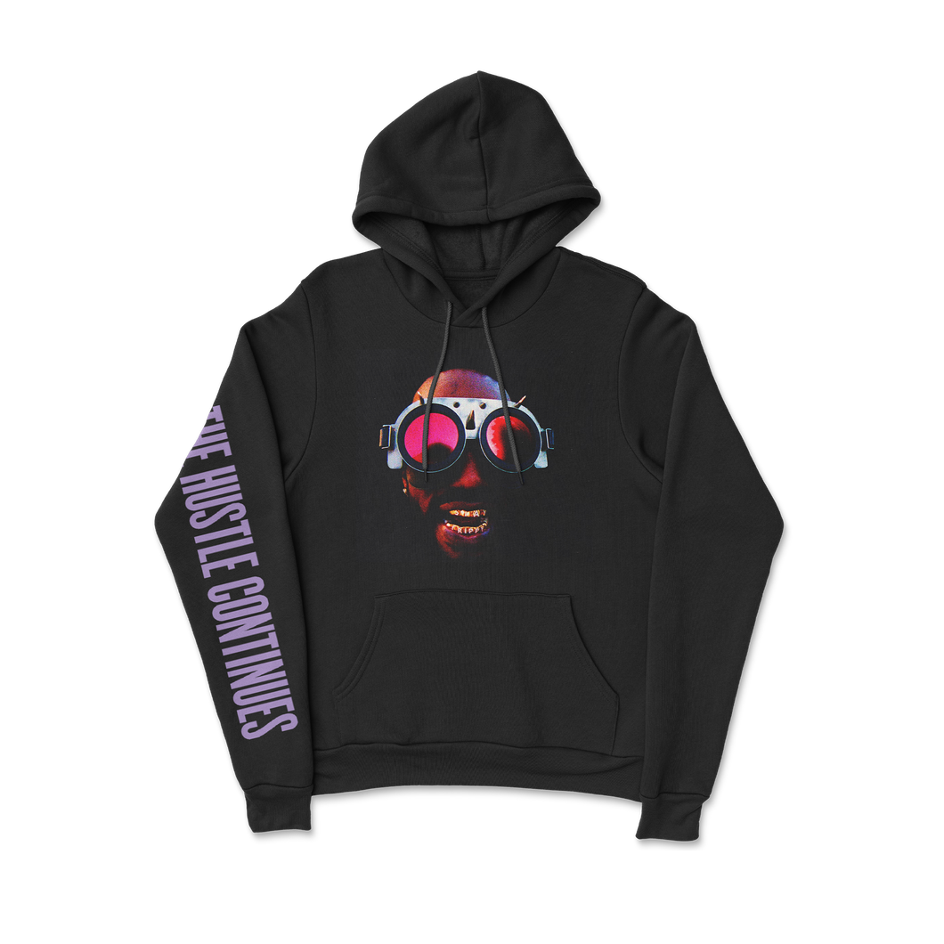 The Hustle Continues Hoodie