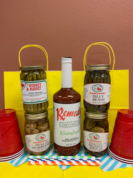 Loaded Bloody Mary Kit - Pick 1 Pickled Pint
