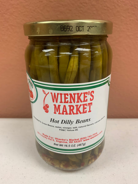 Wienke's Market HOT Dilly Beans