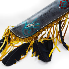 Load image into Gallery viewer, Navajo skin Quiver with Bows, Lizard
