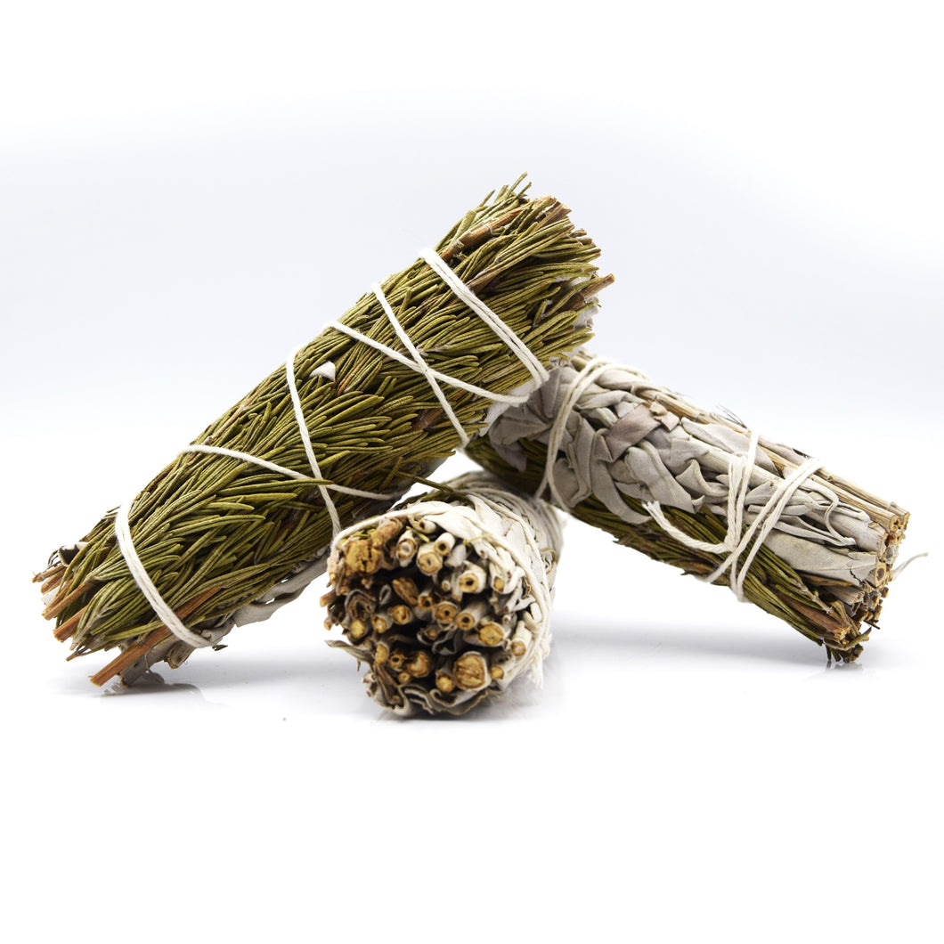 White sage and Rosemary smudge-stick