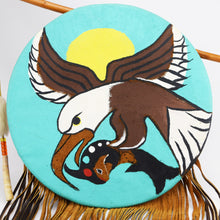 Load image into Gallery viewer, Navajo Flying Eagle Shield