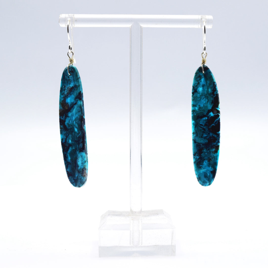 Navajo, 925 Silver Turquoise Earrings