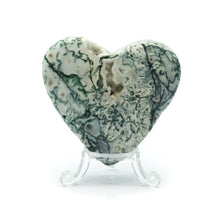 Load image into Gallery viewer, Tree/Dendritic Agate Heart