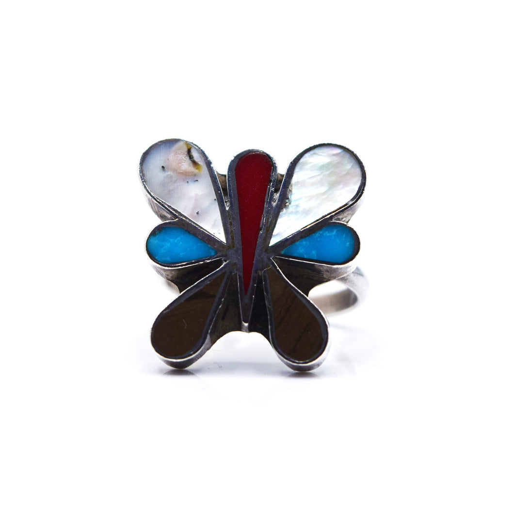 Navajo Butterfly Ring