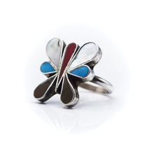 Load image into Gallery viewer, Navajo Butterfly Ring