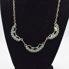 Load image into Gallery viewer, Zuni, Turquoise Necklace