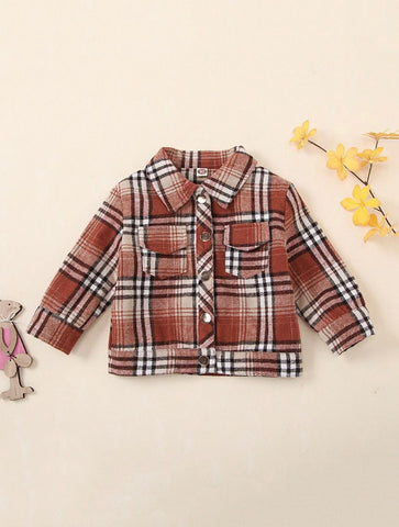 Lil Lady Plaid Jacket