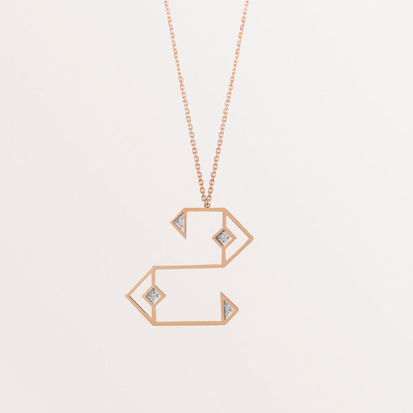 CLASSIC LETTER NECKLACE HHA
