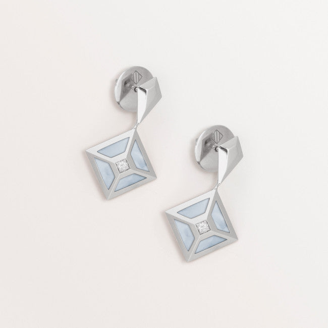 MOP TOKEN EARRINGS