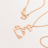 MINI CLASSIC LETTER NECKLACE AIN