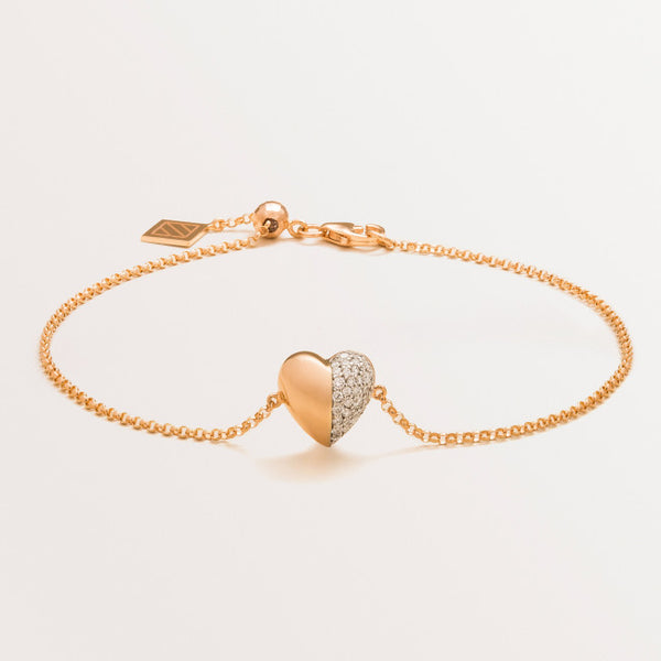 VALENTINE BRACELET IN DIAMONDS